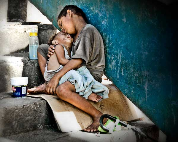 en comunión con niños de la calle worldssps